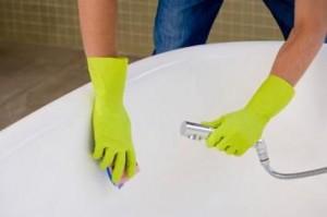Stain free bathtub